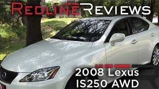 2008 Lexus IS250 AWD Walkaround, Exhaust, Review, Test Drive