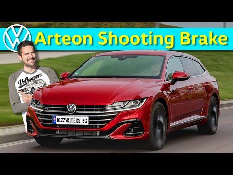 VW Arteon Shooting Brake: красив и спортен?