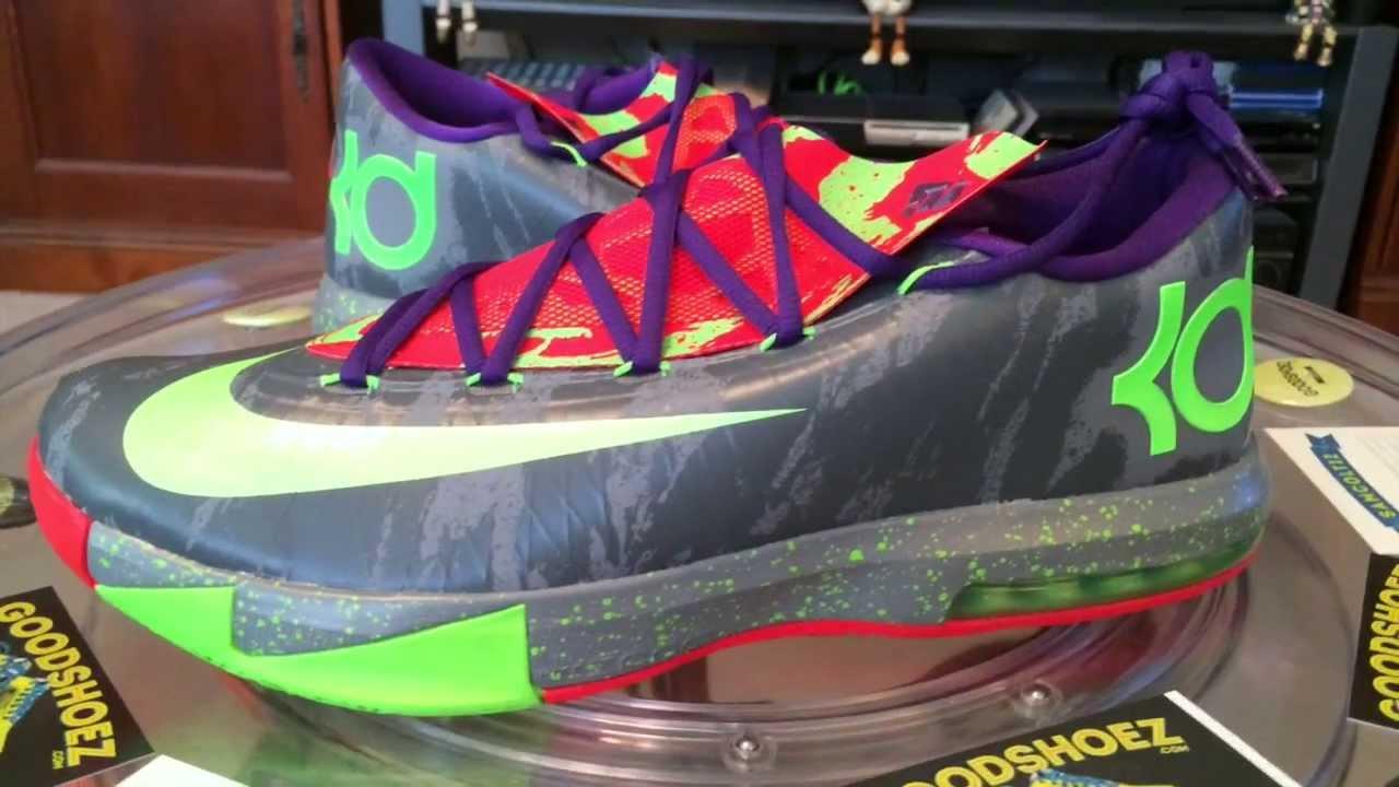 separation shoes f202b 9eb4d Nike Zoom KD VI (6) - Energy   Cool Grey - 1 1 14 - YouTube