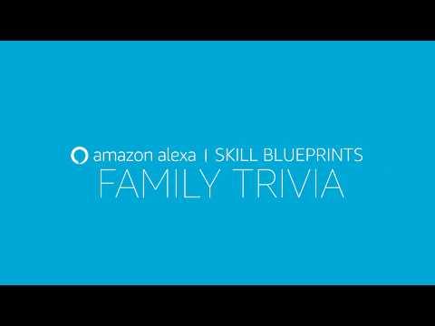 Alexa Skill Blueprints – Create your own Family Trivia Game