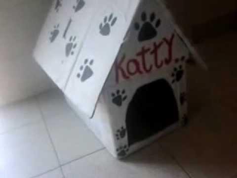 Como hacer una casa para perros f cil y gratis youtube for Como amueblar una casa