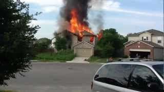 House Fire on Sunbird Lake - 4/10/2012