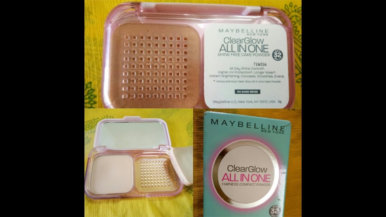 Maybelline Clear Dream Satin Two Way Cake 01 Light Glow Compact Powder Review