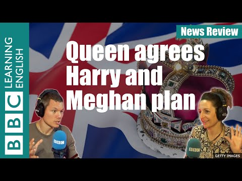 Queen agrees Harry and Meghan plan: BBC News Review