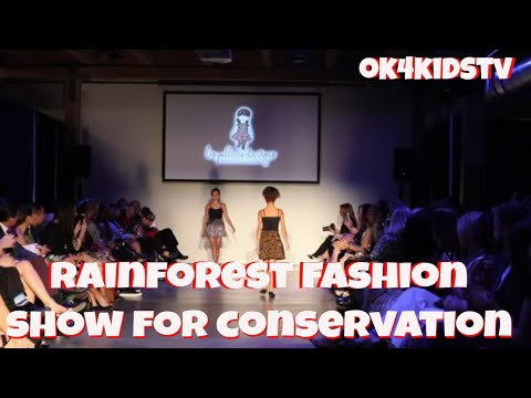 4th Annual Rainforest Gala and Runway Seattle - Fashion Show for Conservation - ok4kidstv video 203