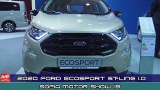 2020 Ford Ecosport ST-Line 1.0 Ecoboost - Exterior And Interior - Sofia Motor Show 2019
