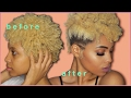 NATURAL HAIR 2017 : EASY FROHAWK FOR TWA SHORT HAIR 4C 4B 4A | J MAYO