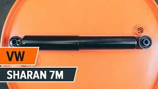 How to replace Shock absorbers VW SHARAN (7M8, 7M9, 7M6) Tutorial