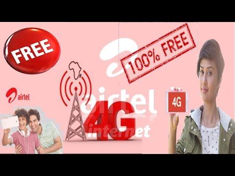 Internet Data Free from Airtel
