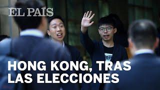 Las reacciones de los políticos a los resultados electorales en Hong Kong