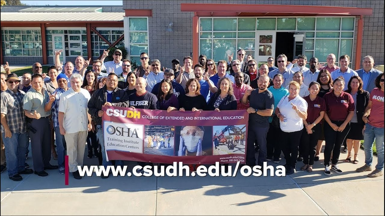 OSHA Training Institute Education Center at California State