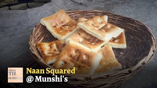 Square Naan at Munshi's in Hyderabad