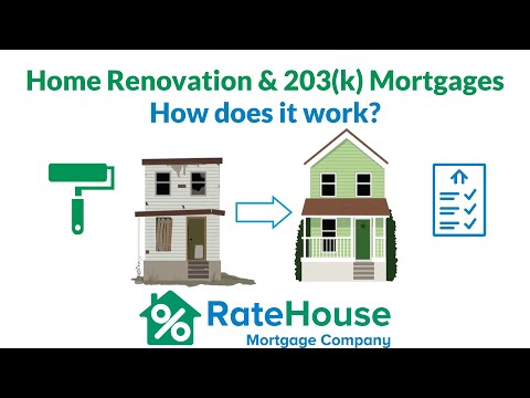 Renovation / 203k Mortgages Explained