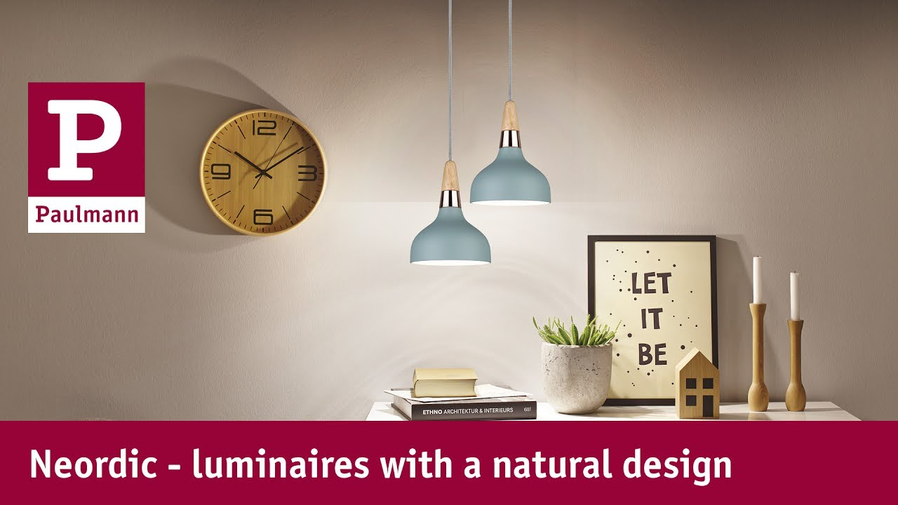 Scandinavian interiors with LED lighting - YouTube