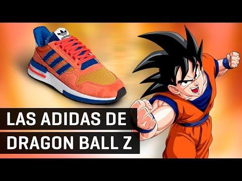 ¡Las zapatillas Adidas de Dragon Ball Z y mucho más!