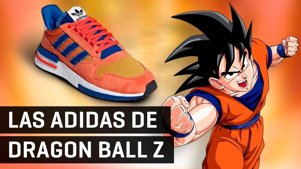lana No esencial El cielo  Las zapatillas Adidas de Dragon Ball Z y mucho más! - YouTube