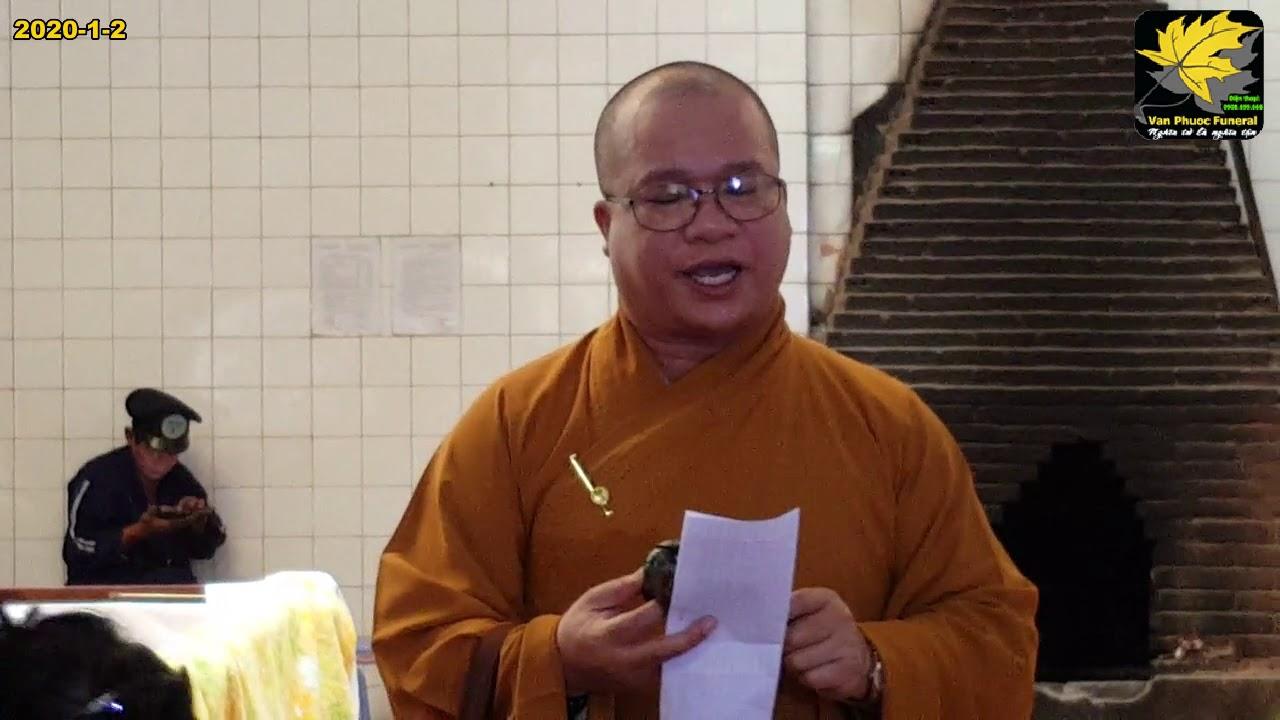 Trại Hòm - Mai Táng Vạn Phước - ĐT: 0908699666 - Lễ nhập liệm 10:00 02/01/2020 NTL Nguyễn Tri Phương