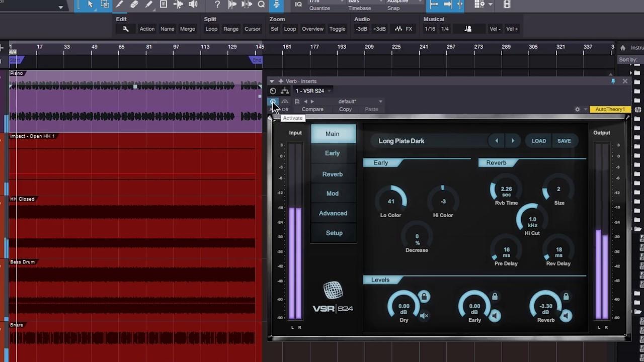 Relab VSR S24 Enhancing Sampled Drums Using Reverb