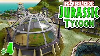 COMPLETED DINOSAUR PARK in ROBLOX - Jurrassic Tycoon #4
