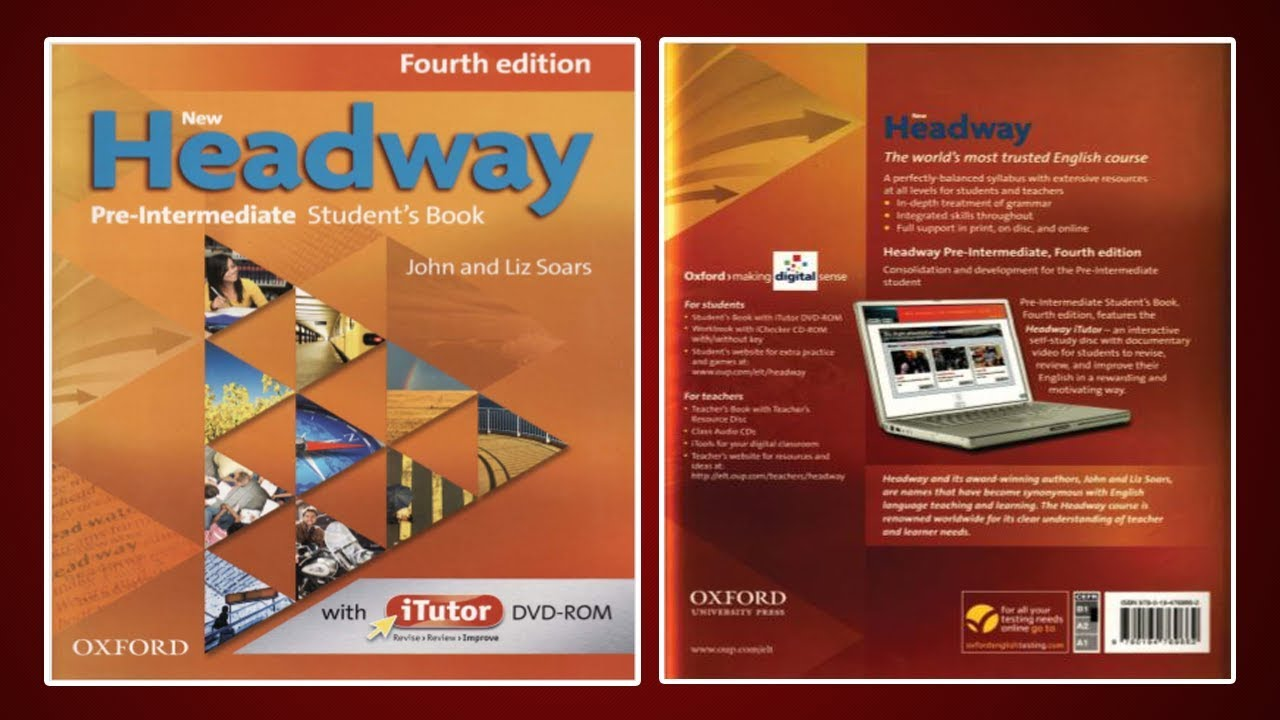 teachers pre-intermediate headway book digital