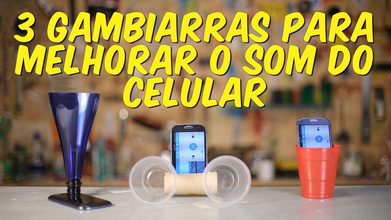 3 gambiarras para melhorar o som do celular