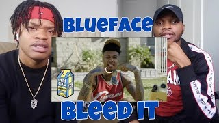 Blueface - Bleed It (Dir. by @_ColeBennett_) - REACTION