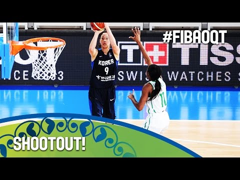 3-points record show! - 2016 FIBA Women's Olympic Qualifying Tournament
