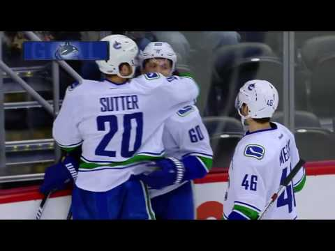 Vancouver Canucks at the Colorado Avalanche | January 25, 2017 | Game Highlights | NHL 2016/17