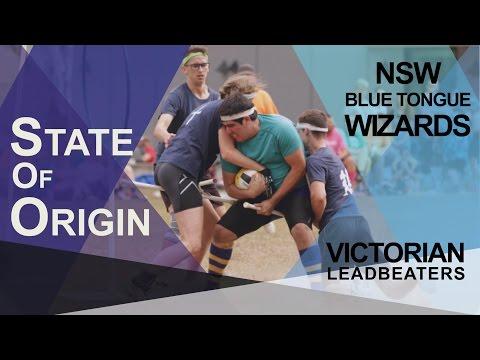 Quidditch Australia - Victoria vs New South Wales - Round 3 - Game 1