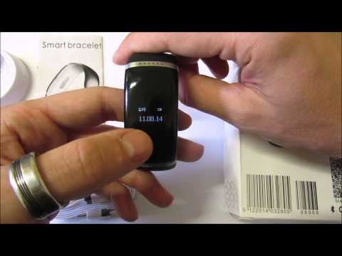 UNBOXING REVIEW SMART BRACELET OLED TRENDY STYLE EN ESPAÑOL.