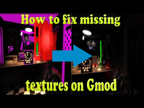 How to FIX missing textures on Garry's Mod (100% Guaranteed) (Works in 2016)