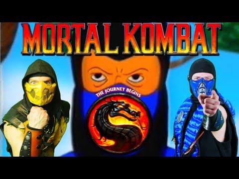 Scorpion & Sub-Zero React - MORTAL KOMBAT The Journey Begins AGAIN | MKX PARODY! thumbnail