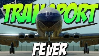TRAIN FEVER WITH PLANES! (Transport Fever Gameplay)