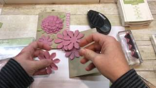 How to make a vintage Oh So Succulent Card/Grateful Bunch Card