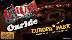 Eurosat CanCan Coaster Europa-Park Onride | Funfairblog [HD]
