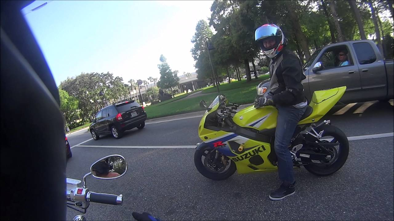 Why is motorcycle stunting illegal?