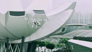 Volocopter flies over Singapore's Marina Bay