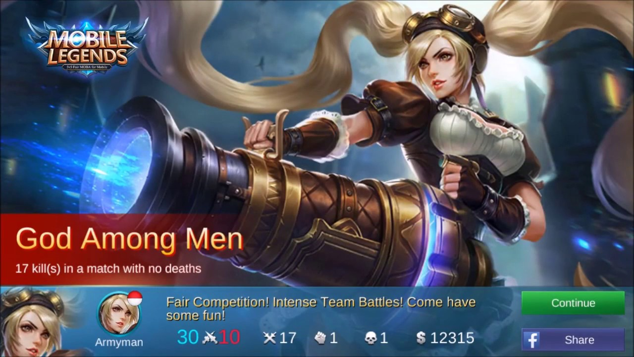 Mobile Legend Bang Bang Mvp With Layla D E9 Indonesia 2017