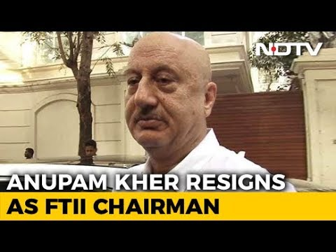 Anupam Kher Resigns As FTII Chairman Citing 'International Assignments' Mp3