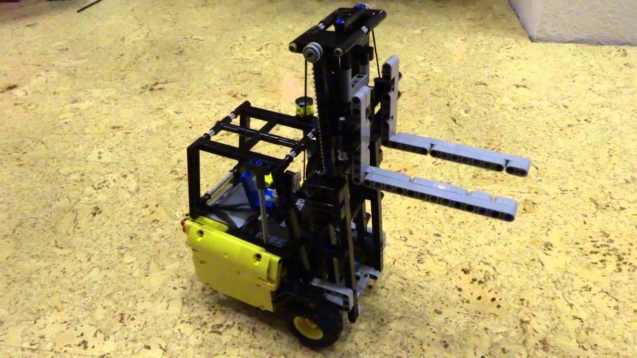 Lego Technic Gabelstapler By Karlspeed Youtube