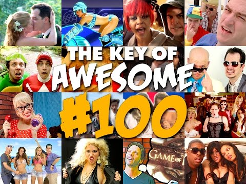 Key of Awesome 100: The Remix Musical! - The Key of Awesome #100