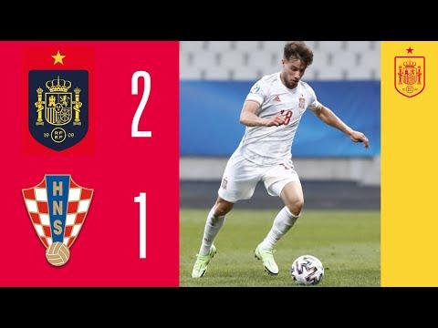 Resumen | España pasa a las semifinales del Europeo Sub-21 tras vencer a Croacia (2-1) | 🔴 SEFUTBOL