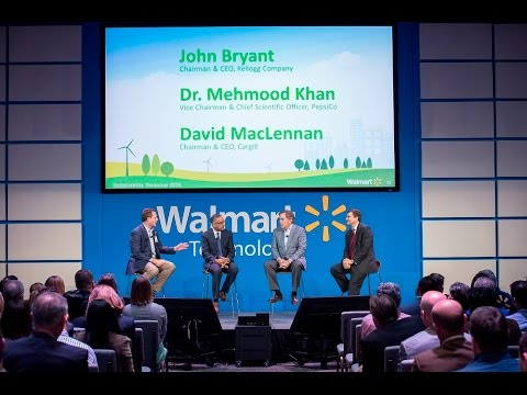 Doug McMillon Talks Sustainability with Kellogg's, PepsiCo and Cargill