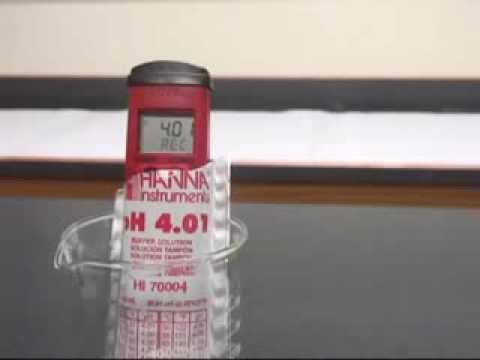 How To Calibrate The Hanna Ph Meters Phep 4 And Phep 5 Labfriend
