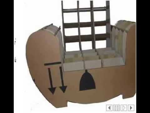comment construire un fauteuil en carton youtube. Black Bedroom Furniture Sets. Home Design Ideas