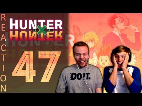 SOS Bros React - HunterxHunter Episode 47 - Kurapika vs. Uvogin
