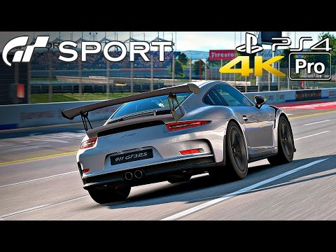 Gran Turismo Sport - Porsche 911 Gameplay Nurburgring #2 [4K 60FPS] PS4 PRO