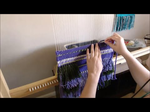 Weaving a Wall Hanging in Fast Foward