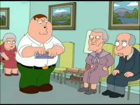 Family Guy- Prostate Exam CENSORED Part 1