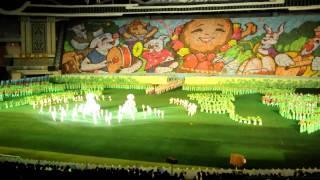 Mass Games at May Day Stadium, Pyongyang, North Korea
